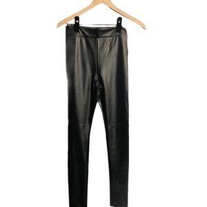 Lulus faux leather leggings Black S